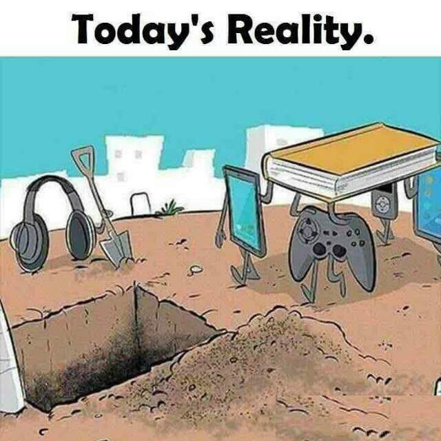 Todays-Reality-Funny-Technology-Cartoon